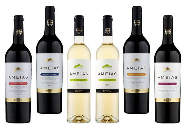 Ameias Wine Selection Pack 6 bottles of 750ml (each)