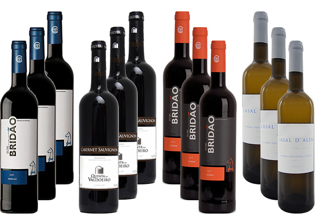 Ameias Wine Selection Pack 12 bottles of 750ml (each)